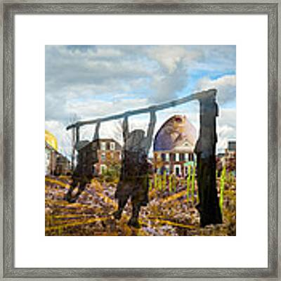 Be Different Framed Print by Nancy Strahinic