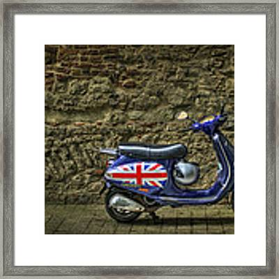 British At Heart Framed Print by Evelina Kremsdorf