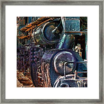 Build For Comfort Not For Speed Framed Print by Gunter Nezhoda
