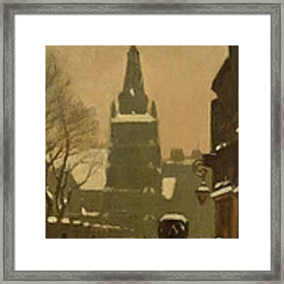 Bunhill Row Framed Print