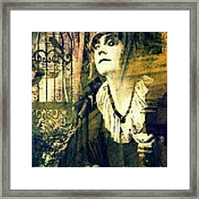 Blueprint For The Frightened Framed Print by Delight Worthyn