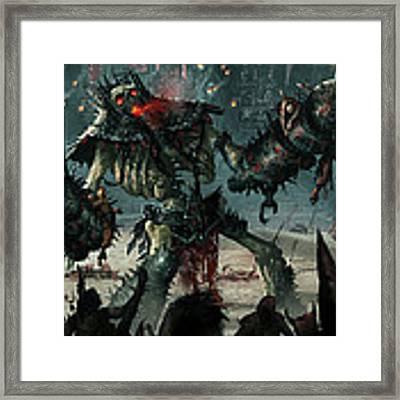 Carnage Gladiator Framed Print