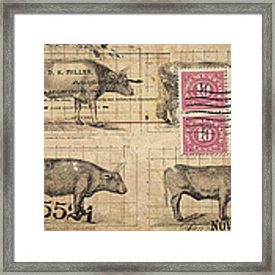 Cattle Arrived Framed Print
