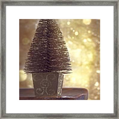 Christmas Tree Framed Print by Amanda Elwell
