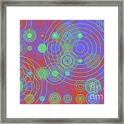 Circle Of Love  II Framed Print by Ilona Svetluska