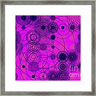 Circle Of Love IIi Framed Print by Ilona Svetluska