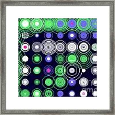 Circle Of Love Iv Framed Print by Ilona Svetluska