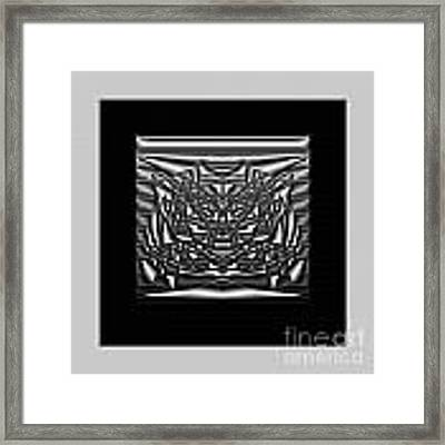 Classic Shine - Silver Framed Print by Mihaela Stancu