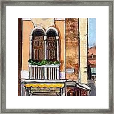 Classic Venice Framed Print by TM Gand