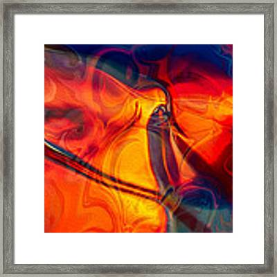 Color Conception Framed Print by Omaste Witkowski