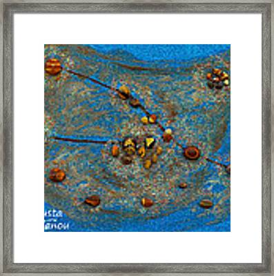 Constellation Of Taurus Framed Print by Augusta Stylianou