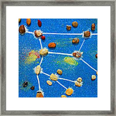 Constellation Of Ursa Major Framed Print by Augusta Stylianou