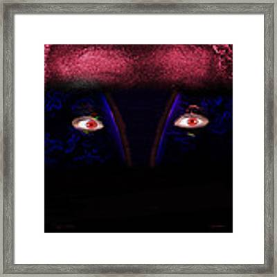 Copperman Framed Print by Gunter Nezhoda