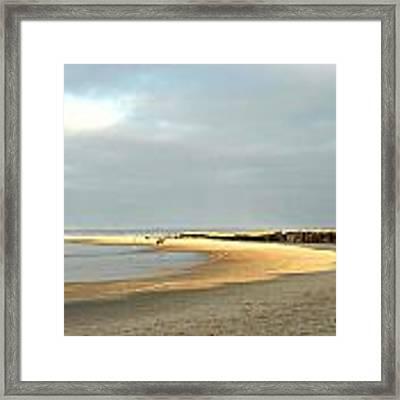Crane Beach Framed Print by AnnaJanessa PhotoArt