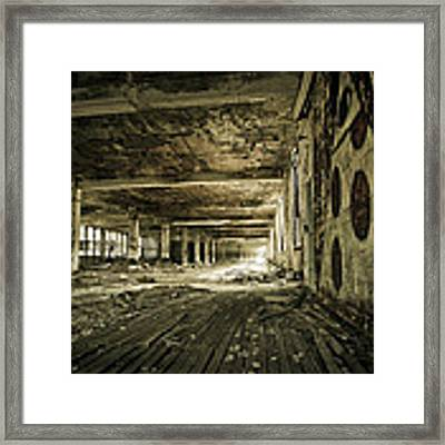 Crumbling History Framed Print by Priya Ghose