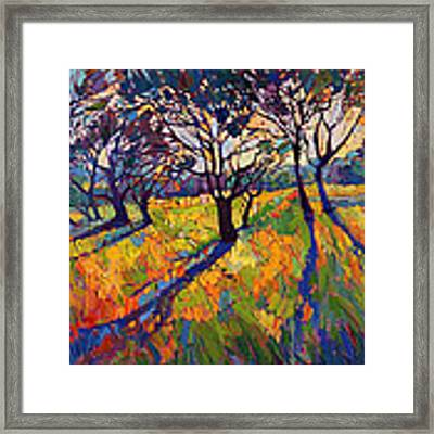 Crystal Light II Framed Print by Erin Hanson