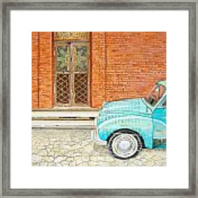 Curb Appeal Framed Print by Danny Phillips