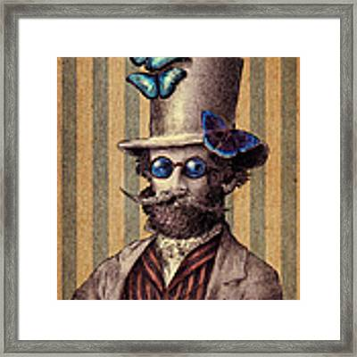 Dr. Popinjay Framed Print by Eric Fan