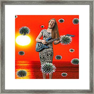 Dream Rock An Roll  Framed Print by Eric Kempson