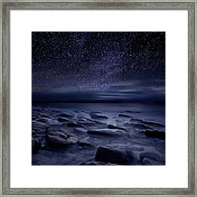 Echoes Of The Unknown Framed Print