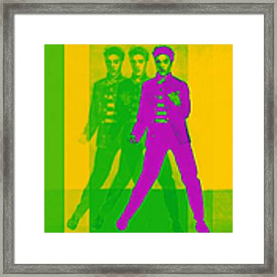 Elvis Three 20130215 Framed Print by Wingsdomain Art and Photography