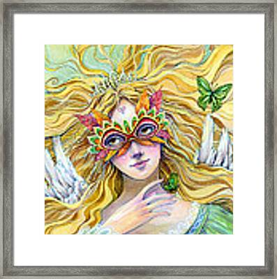 Emerald Princess Framed Print