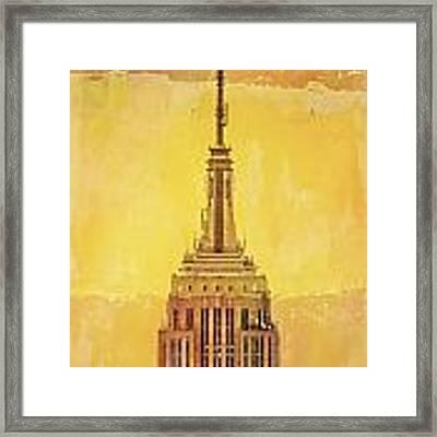 Empire State Building 4 Framed Print