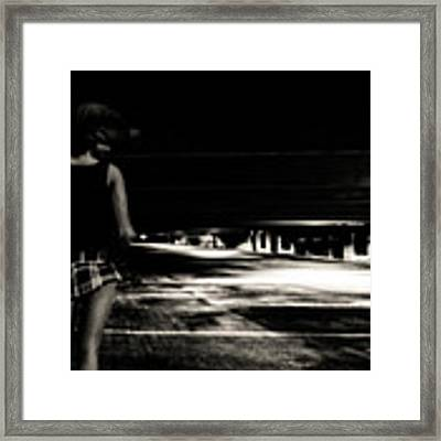 Empty Spaces Framed Print by Bob Orsillo