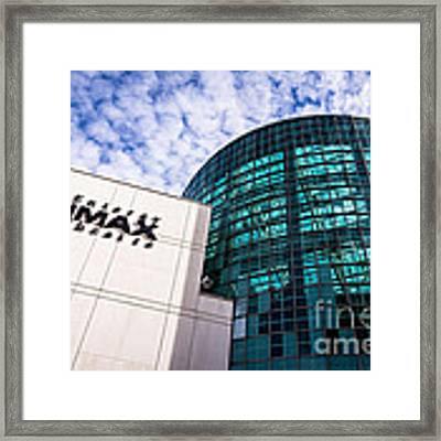 Entergy Imax Theatre In New Orleans Framed Print