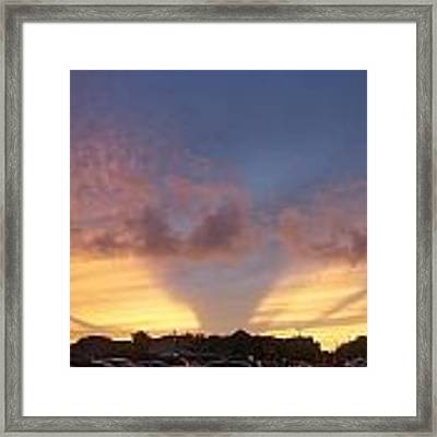 Evening Sky Framed Print by Ralph Jones