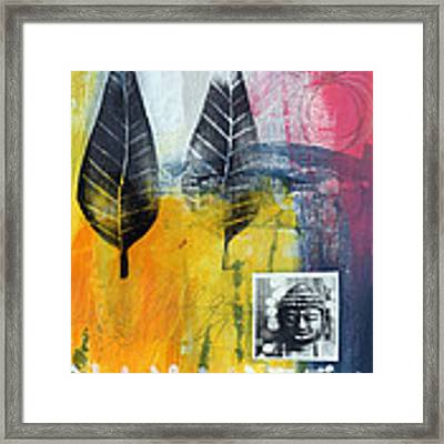 Exhale Framed Print by Linda Woods