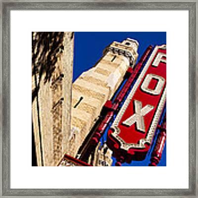 Fabulous Fox In Atlanta Framed Print by Mark E Tisdale