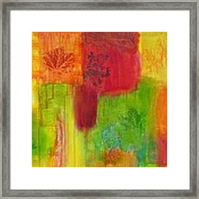 Fall Impressions Framed Print by Angelique Bowman