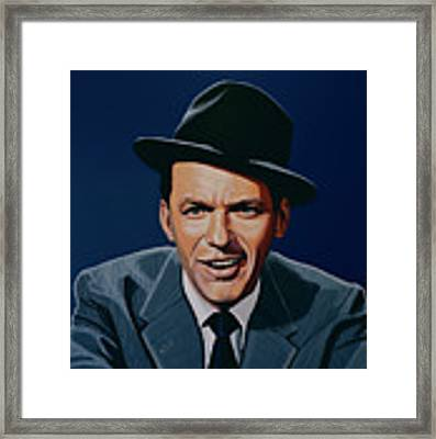 Frank Sinatra Framed Print by Paul Meijering