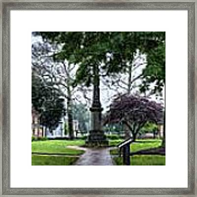 Gloucester Courthouse In May Framed Print by Williams-Cairns Photography LLC