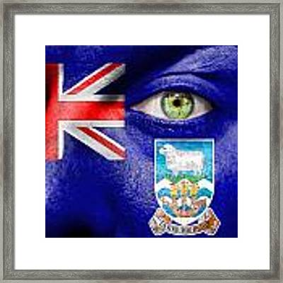 Go Falkland Islands Framed Print