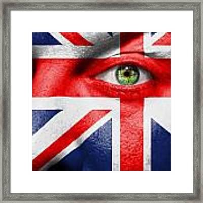 Go United Kingdom Framed Print