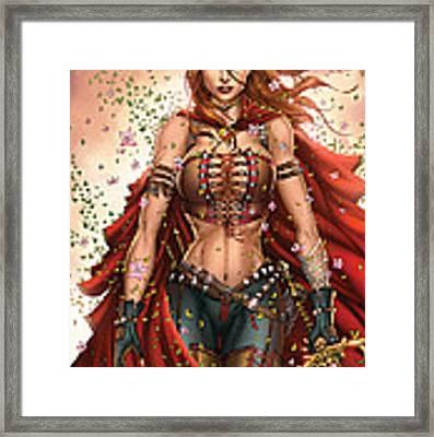 Grimm Fairy Tales Unleashed 04c Belinda Framed Print