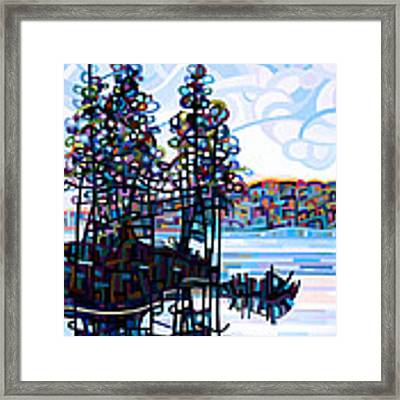 Haliburton Morning Framed Print