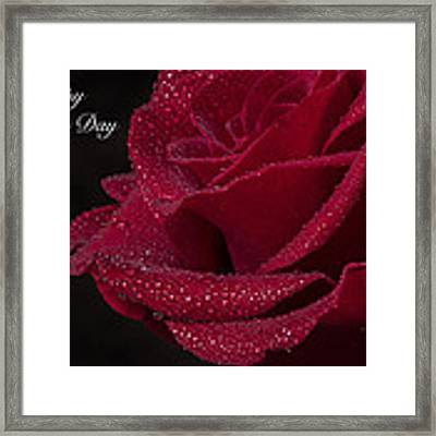 Happy Mother's Day Framed Print by Garvin Hunter