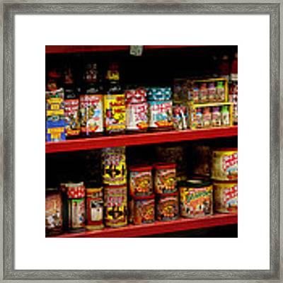 Hot Sauce Framed Print by Gunter Nezhoda