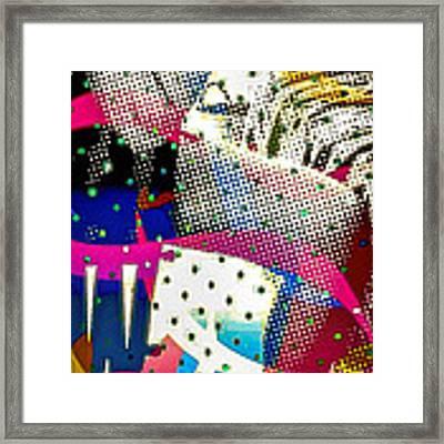 Incognito Framed Print by Eleni Mac Synodinos
