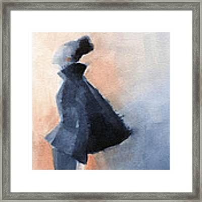 Inspired By Balenciaga Fashion Illustration Art Print Framed Print by Beverly Brown