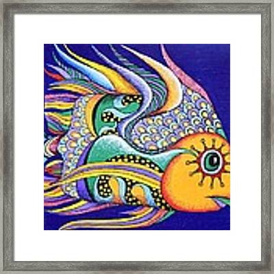 It Is Fun To Be Colorful Framed Print by Katerina Kovatcheva