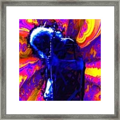 Jerry Silas By Earl Grey And Ben Upham Framed Print by Ben Upham