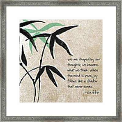 Joy Framed Print by Linda Woods