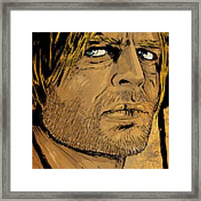 Klaus Kinski Framed Print