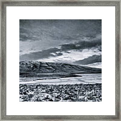 Land Shapes 12 Framed Print