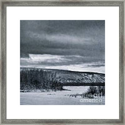 Land Shapes 14 Framed Print