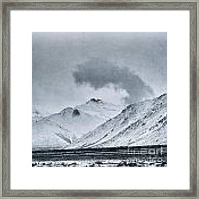 Land Shapes 17 Framed Print